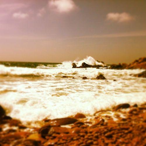 #sea #waves #ajaccio #corsica #waves #wind