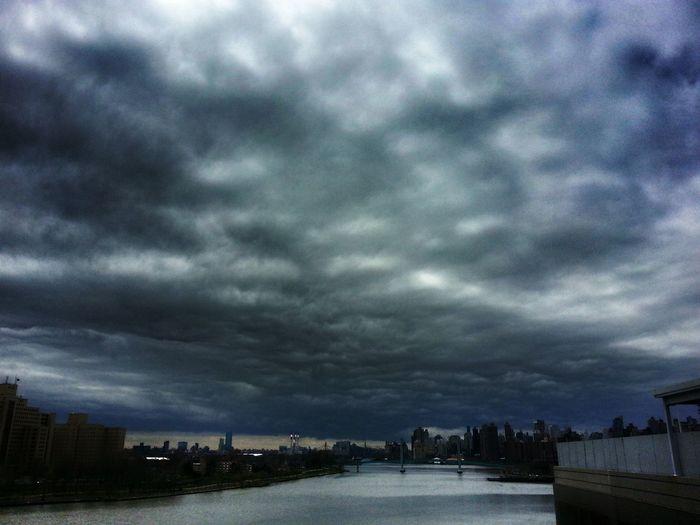 Clouds Over Manhattan