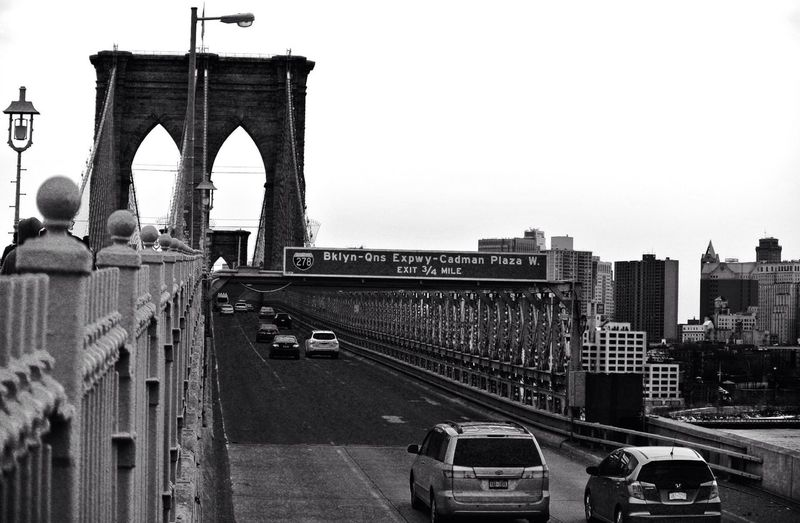 The famous Brooklyn Bridge. The Traveler - 2015 EyeEm Awards