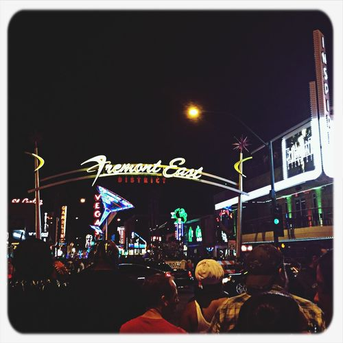 Halloween in downtown Las Vegas