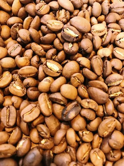 Food And Drink Abundance Coffee Bean Raw Coffee Bean Roasted Coffee Bean Still Life Roasted Food Brown Large Group Of Objects Coffee - Drink No People Close-up