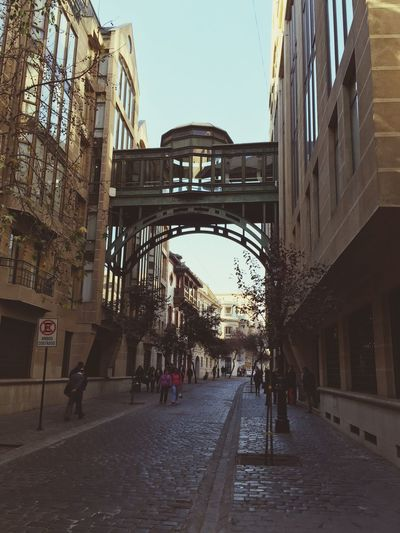 Un paseo por Paris. Calle Paris Santiago Centro Martes En La Capital
