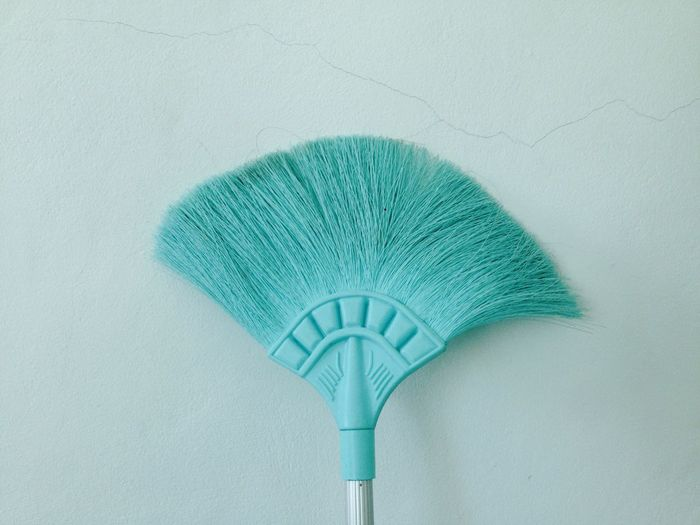 Cleaning Equipment Hygiene Cleaning Green Color Indoors  Broom Wall - Building Feature People Close-up Dirty