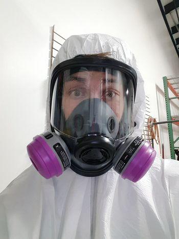 Work. Protective Mask - Workwear Funnycar Master Class Master Painters Craftsmanship  Craftsmanship  Powdercoating Working Hard Powder Paint Racing