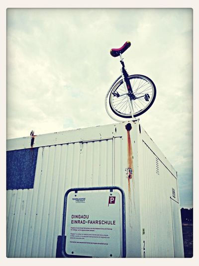 Einrad-Fahrschule