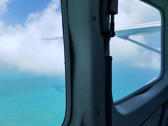 View From The Window... Carribean EyeEm Selects Water Window Nautical Vessel Sky Close-up Cloud - Sky Air Vehicle Airplane