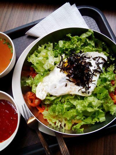 Food Healthy Eating Vegetable Temptation Lunch Freshness Bibimbab Bibim Korean Food Korea Food Koreanfood Bibimbap Bibimbap😋