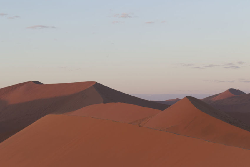 Arid Climate Beauty In Nature Day Desert Landscape Namib Desert Namib Dunes Namibia Namibia Landscape NamibiaPhotography Nature No People Outdoors Sand Sand Dune Scenics Sky Sunset Tranquil Scene Tranquility