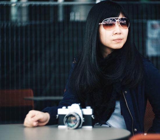 Magazine cover Young Women Photography Eyeemphoto Bokeh Vintage Lenses Minolta
