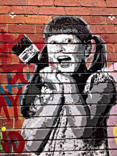 Streetart stencil