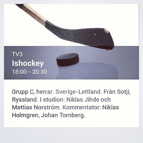 Ikväll så krossar vi Lettland! Kolla på hockey med lite pizza ikväll, kommer bli skönt!! Hockey Sverige Lettland  L ättVinst Sverige Regerar followme followforfollow likeforlike teamlikeback teamlike like pizza tonight