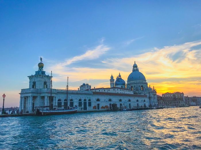 Travel is the only thing you buy... that makes you richer. Sightseeing Venice Sky Built Structure Architecture Building Exterior City Nature Cloud - Sky Travel Destinations Building