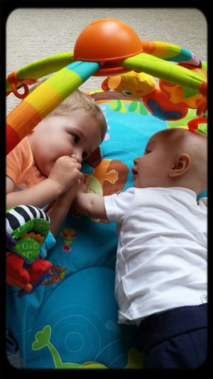 Tummy Time With Big Brother