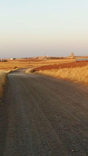 Belalcázar Road Spain♥ Andalucía Walking Caminar Sport Castle Summer ☀ Country Road End