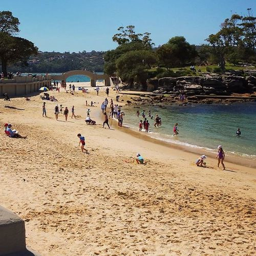 Exploring the Beaches of Sydney with bae. But still haven't found any as good as the ones on the North Coast!! Beachweekend Balmoralboathouse Fishandchipsatthebeach Midsembreak Timewellspent