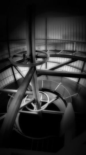 Indoors  Stairs Architecture Built Structure Black & White Photography Bw_collection The Best Angles In Arquitecture EE Monochrome Youmobile EyeEm Best Shots - Black + White Black & White Shootermag Architecture Fine Art Photography EyeEm Masterclass Popular Photos Circular Stairway Black And White Photography