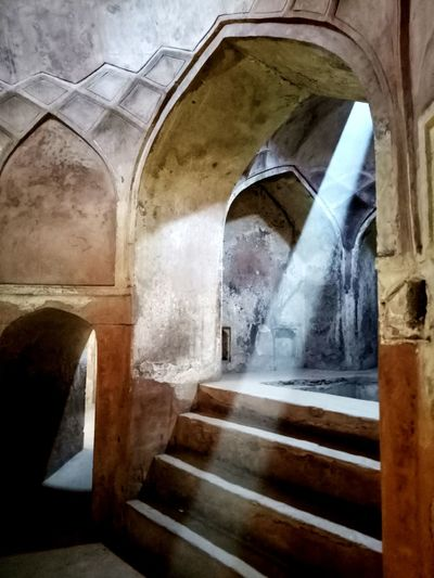Arch Indoors  Steps Architecture Built Structure Steps And Staircases No People