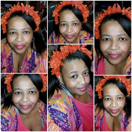 50th Birthday Crafter Homemade Headband EyeEm Selects Looking At Camera Portrait Variation Headshot Smiling Happiness Human Face Multi Colored