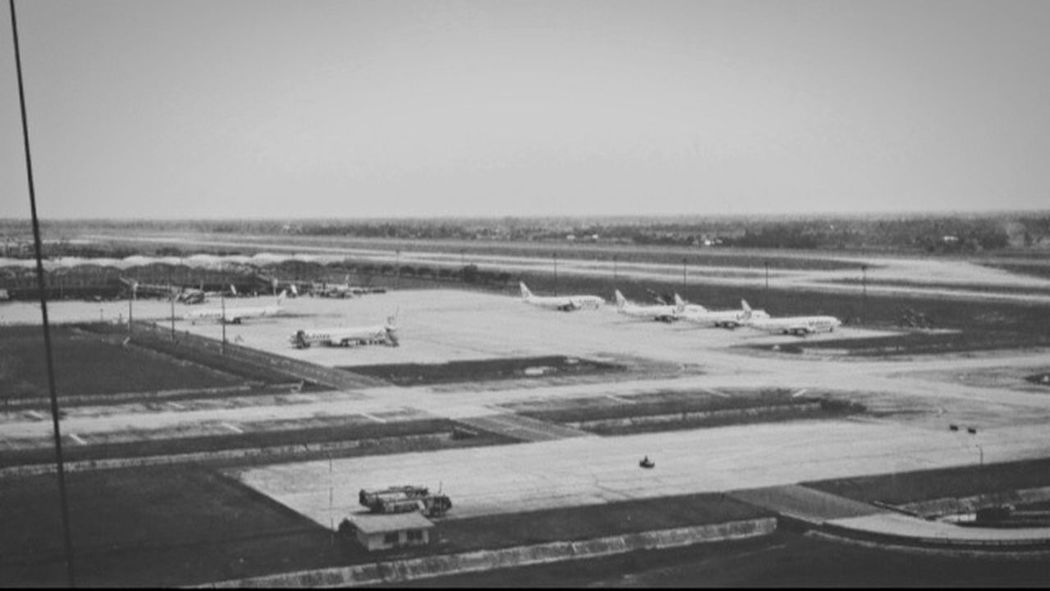 Greystudio Airport Navigation The Tower Blackandwhite Black & White Public Transportation Airplane