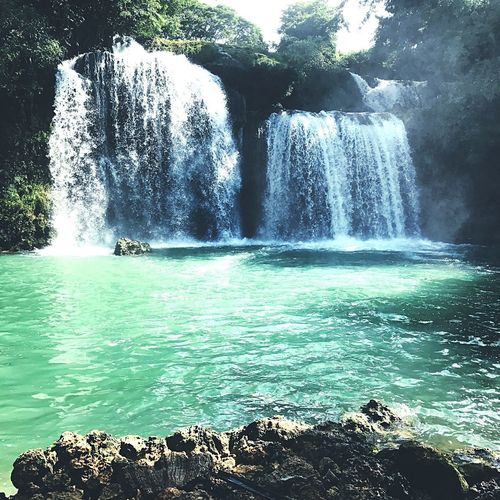 Bolinao falls Waterfall Beauty In Nature Flowing Water Nature Travel Destinations EyeEmNewHere