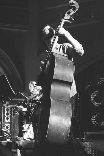 London UnionChapel Michaelleague Billlauranceproject Doublebass