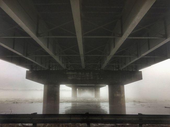 Foggy morning Bridge - Man Made Structure Built Structure No People Missouri Bridge Bridge View Fog