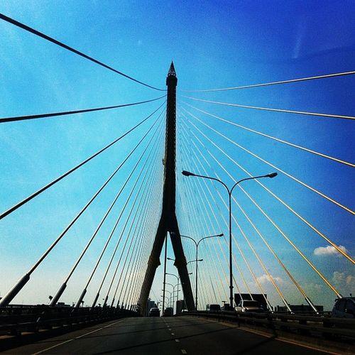 Rama8 Bridge Bangkok Thailand