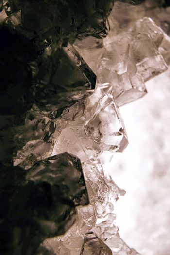 Cristal Crystals Crystal Nature Day No People Cold Temperature High Angle View Frozen Winter Close-up Outdoors Beauty In Nature Ice Tranquility