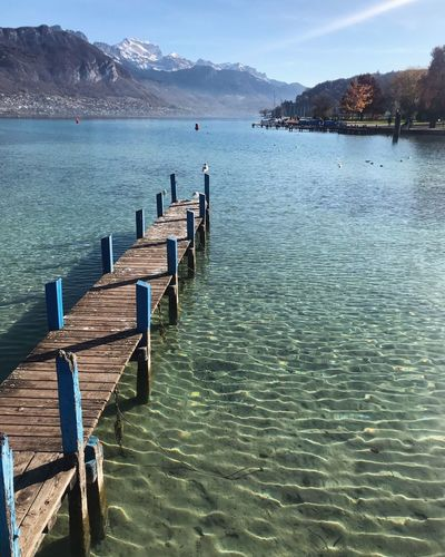 Lake Annecy, France 🇫🇷 Water Tranquility Nature Tranquil Scene Beauty In Nature Scenics Day Mountain Sea Pier Outdoors Jetty No People Sky Water Reflections Annecy Annecylake Annecy, France Annecy Lake France Water_collection Beautiful Water Surface Wunderlust Close-up