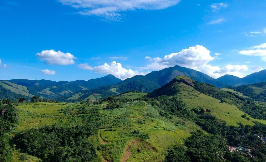 Paraty Djispark Drone  EyeEm Selects Tea Crop Tree Mountain Beauty Tree Area Rural Scene Forest Terraced Field Agriculture Sky