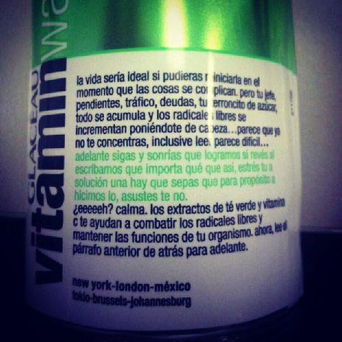 Vitamin Water Amargados Alegrate