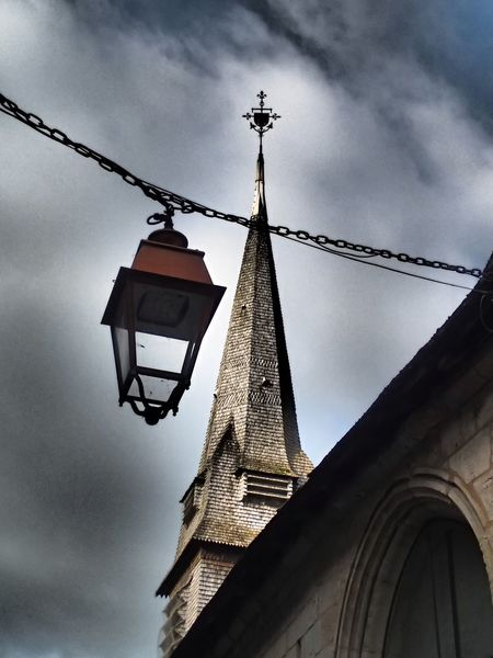 Don't follow the light... Light Church Dramatic Effect Honfleur Hanging No People Spirituality Sky Outdoors