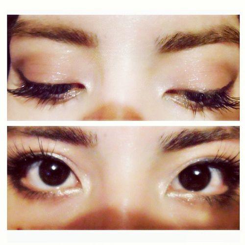 Eyes... Playingwithmycamera Selfie Eyes Chile Loveit Me Throwback Hello World