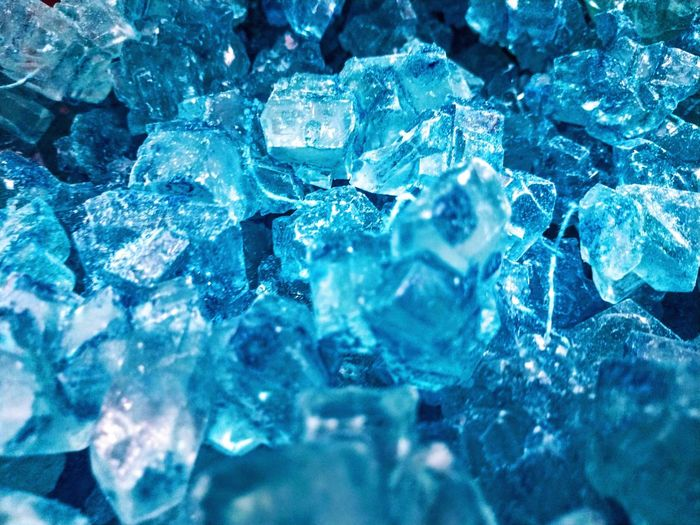 Rock Candy Beauty Is Everywhere  Candy Rock Candy Cristal Shine Sparkle Transparent Textured  Glistening Candy Store Backgrounds Blue Full Frame Crystal Textured  Ice Close-up