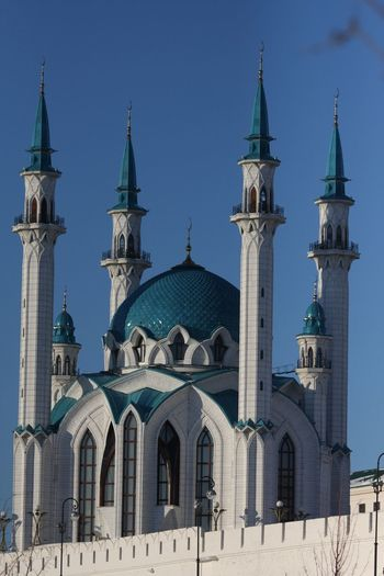 Kazan Kazan Russian Federation EyeEm Selects Religion Travel Travel Destinations Place Of Worship Architecture Tower Building Exterior Nature Built Structure Holiday Belief Tourism Outdoors Bell Tower - Tower Land Sky Spire