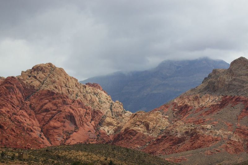 Red Rock Mountain Tranquil Scene Scenics Tranquility Beauty In Nature Cloud - Sky Sky Mountain Range Non-urban Scene Majestic Idyllic Nature Physical Geography Travel Destinations Day Geology Outdoors Remote Tourism Rocky Mountains Las Vegas