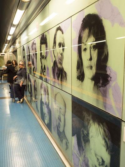 Enjoy my tour in Naples Subway Art Arte Metro Metropolitana Naples Napoli People Person Street Photography Streetphotography Subway Subway Station Underground Urban Exploration