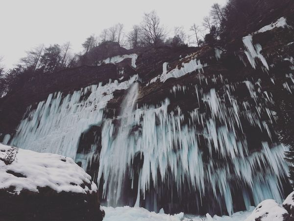 Miles Away Nature Winter Waterfall Snow No People Beauty In Nature EyeEm Best Shots EyeEmBestPics EyeEm Best Edits Fresh On The EyeEm VSCO Moments EyeEm Nature Lover Nature_collection Enjoying Life Natural Light Frozen Nature The Week Of Eyeem Cold Temperature Rsa_nature IPhone Slovenia Julian Alps People And Places