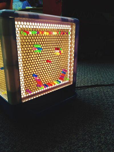 Lite Brite Light Bright Kids Toys Glow Smiley Face