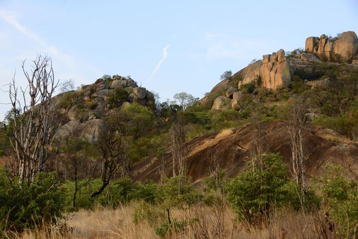 Rhodes Matopos National Park MatopoHills National Park Rhodes UNESCO World Heritage Site Zimbabwe Africa Beauty In Nature Cliff Day Landscape Nature No People Outdoors Rhodes Matopos National Park Rock Formation Scenics Tranquil Scene Tranquility Unesco