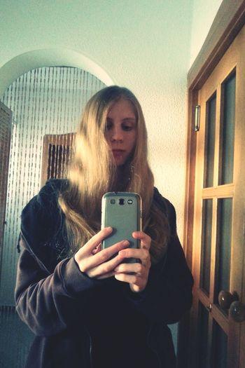 Old photo 😆 GoldieLocks Blondelonghair