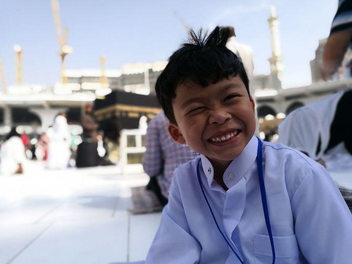 Portrait Of A Smiling Boy