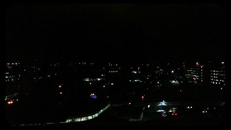 Hello World People Watching The World Below Nightphotography