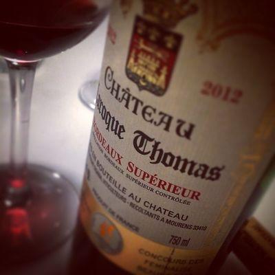 Le petit jeune. Bordeaux Wino Winolife Winestagram Instawine Redwine