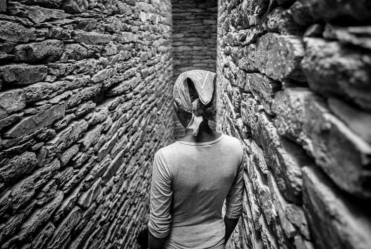 bnw_friday_eyeemchallenge bnw_corridor Rear view stone wall brick Brick Wall The Week Nofaces Stonewall Bnw_friday_eyeemchallenge Bnw_corridor Rear View Stone Wall Brick Brick Wall Perspective Photography Perspectives Claustrophobic Claustrophobia  Labyrinth Ethiopia