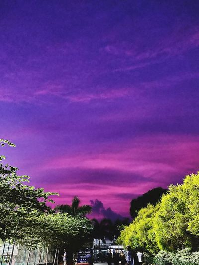 Beautiful Astronomy Multi Colored Sky Only Atmospheric Mood Storm Cloud Sunset Romantic Sky Heaven First Eyeem Photo