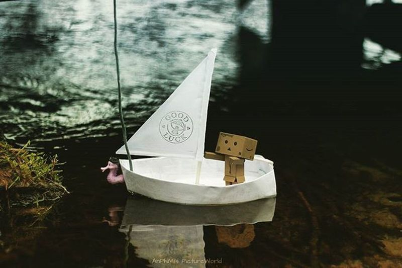 Danbo holt seine Liebste zum Ausflug ab 😂 Danbo Danboard Danbophoto Danbophotography Boot Boat See Sea Danboo