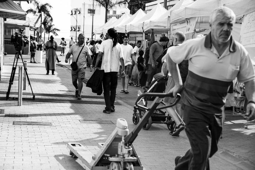 Life in Corralejo Man At Work Black & White Blackandwhite Ordinary Day Showcase: February Fuerteventura Work Working Hard Portrait Portraits