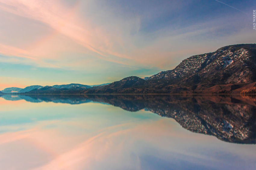 Reflection Sunset Lake Landscape Water Mountain Blue Travel Igniting Tranquility Tourism Beauty Sky Nature Reflection Lake Outdoors Beauty In Nature Scenics No People Tree