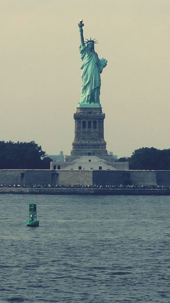 """Lady Liberty"" Statue Of Liberty NYC New York Harbor"